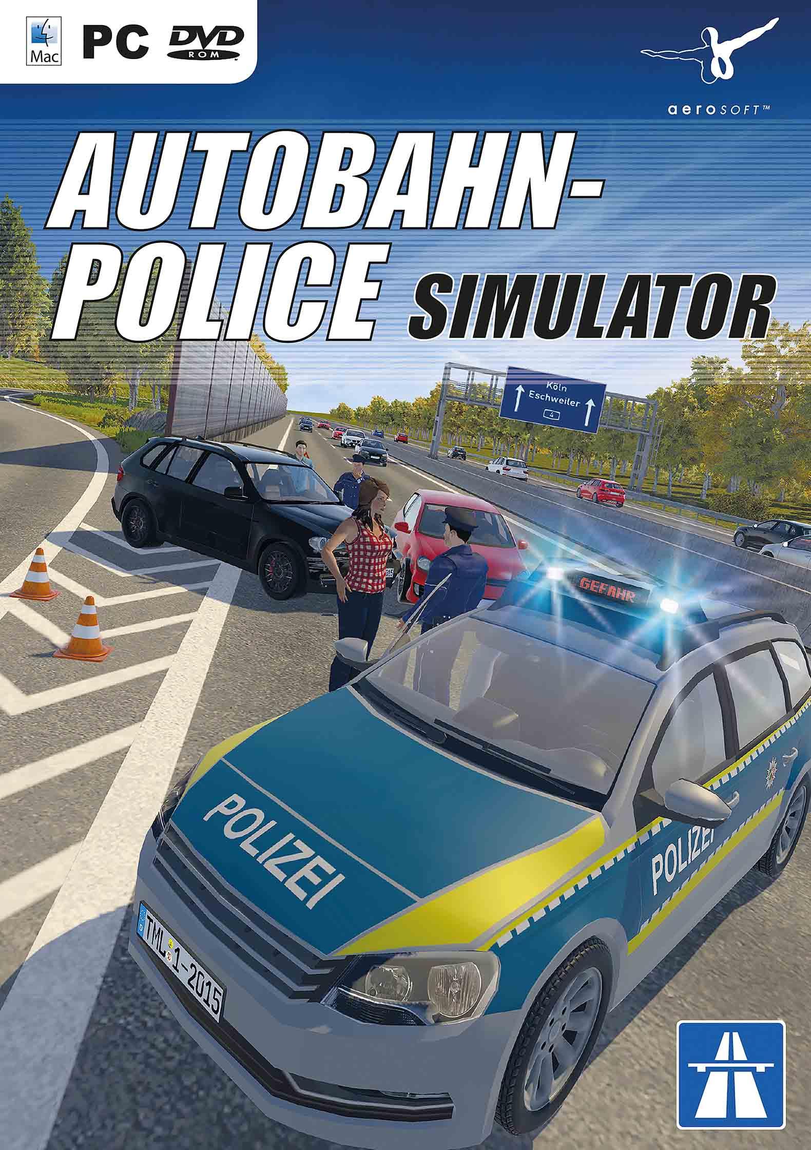 نتیجه تصویری برای Autobahn Police Simulator برای PC