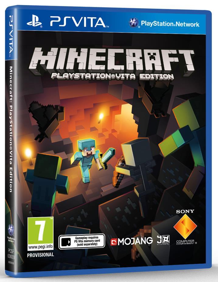 Minecraft Playstation Vita Edition » Playstation Vita » EGO Games